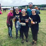 Hayley Harper and Team Opia endure 5 miles of mud with 13 obstacles
