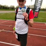 Congratulations Simon on completing the first 50 miles of the 250 mile run challenge