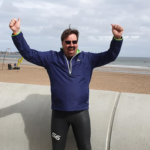 Phil completes Swimathon